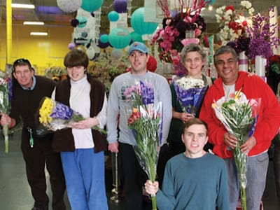 United Wholesale Flowers continues partnership with Morgan Autism Center's Adult Program